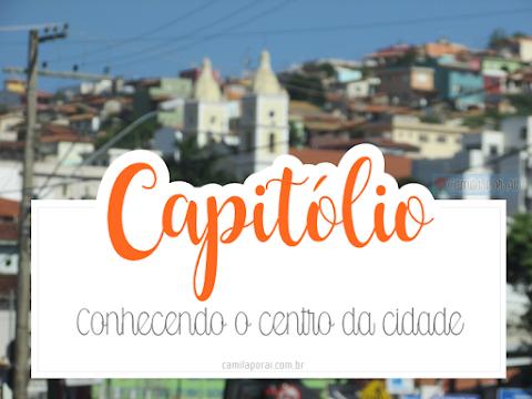 Capitólio: conhecendo o centro da cidade