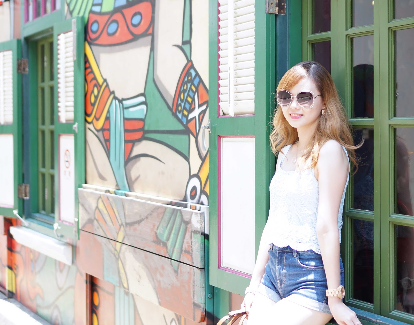 travel, singapore, haji lane, travel to singapore, travel with jean milka, haji lane, haji lane singapore, style, fashion, ootd, fashion blogger, blogger, travel