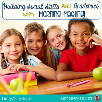 Build Social Skills and Academics with Morning Meeting: morning meetings have numerous benefits for children and classrooms, including building social skills, emotional skills, community, focus, and productivity.