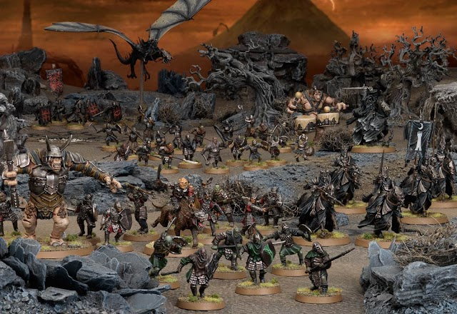 Evil Army Bonuses for the Middle Earth Strategy Game.