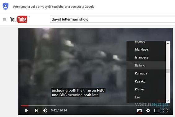scaricare video e sottotitoli da youtube