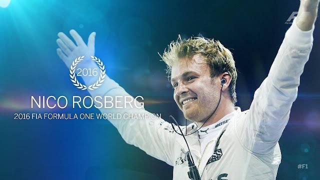 Nico Rosberg - Campeão Mundial de Fórmula 1 - 2016