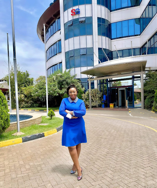 The popular former Presenter Betty Mutei Kyallo photo at SG