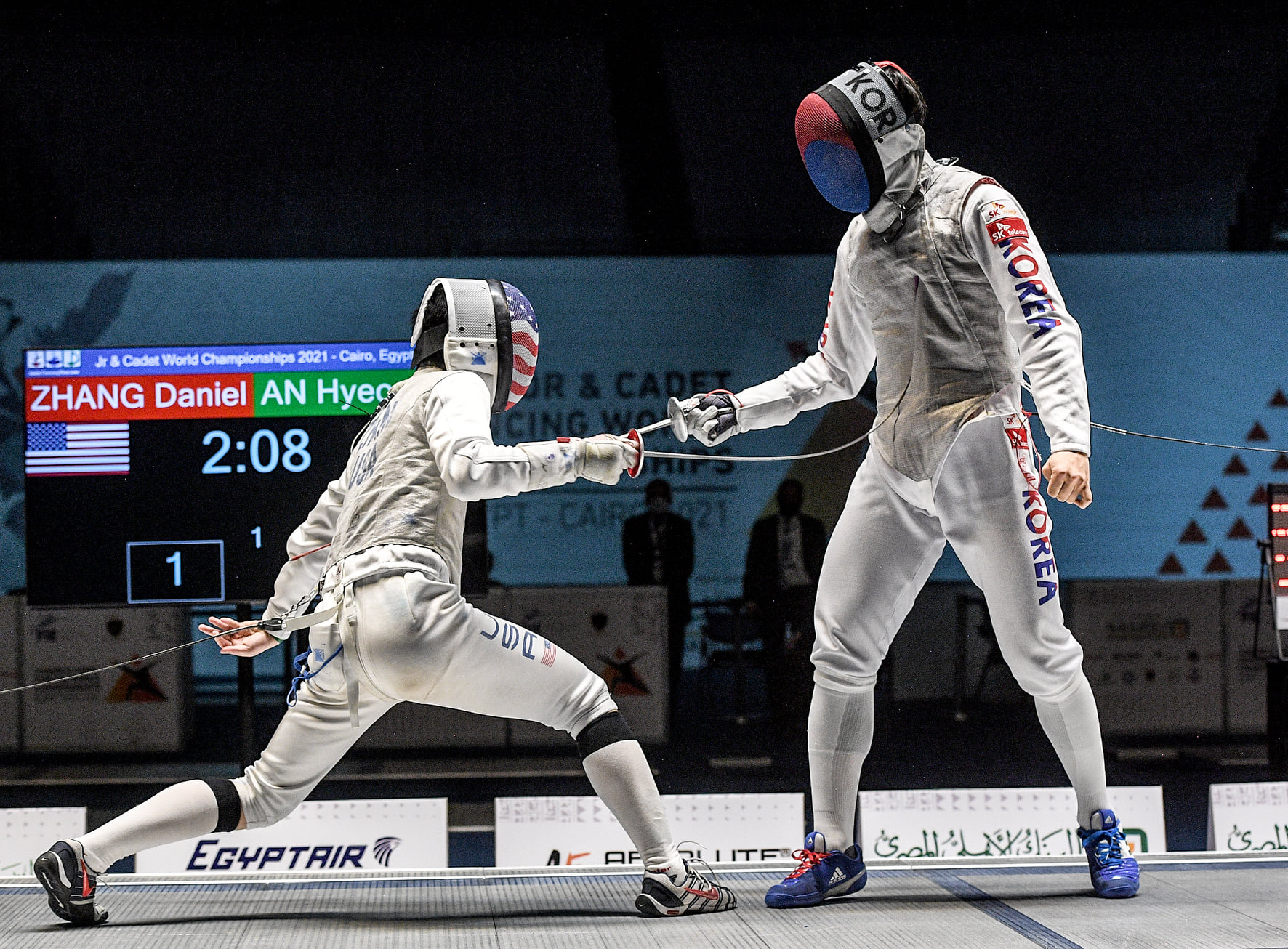 Daniel Zhang USA KOR vence mundial cadete