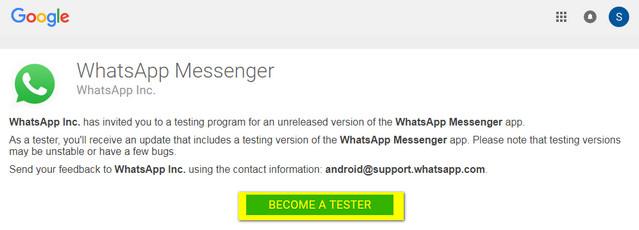 كيفية تمكين وضع حالة النص الجديد فى الواتساب لنظام الاندرويد New Text Status