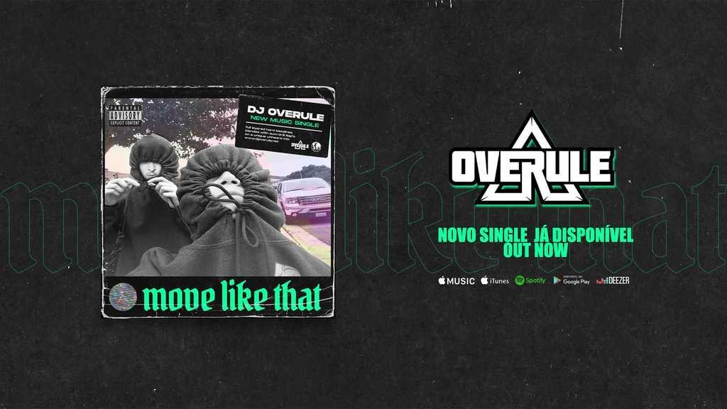 O aclamado DJ e produtor português OVERULE lança o seu 5º single oficial em nome próprio!