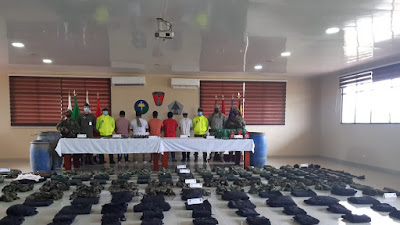 Cinco integrantes del Clan del Golfeo se entregan en Medio Atrato