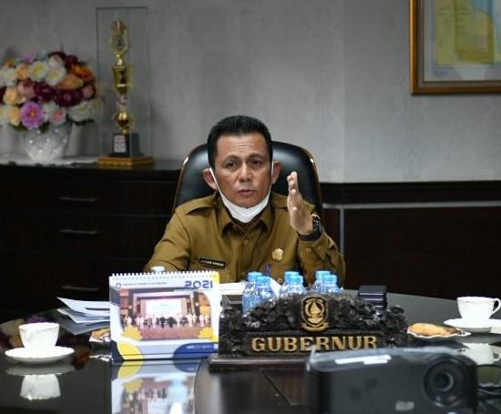 Gubernur Kepri Meninjau Pelaksanaan Vaksinasi Bagi Pekerja PT Mc Dermott Indonesia