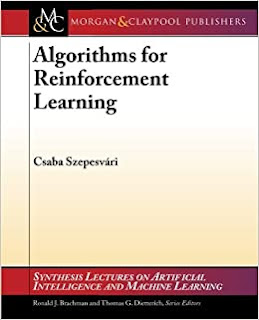 Algorithms for Reinforcement Learning pdf ebook