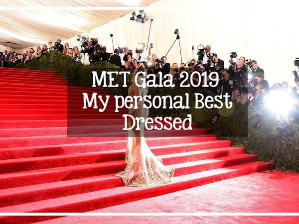 👗MET Gala 2019 : My personal Best Dressed
