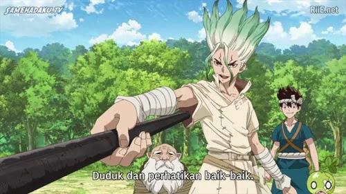 Dr. Stone Episode 11 Subtitle Indonesia