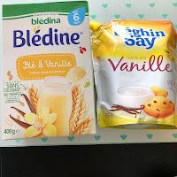 Blédine de Blédina et sucre Bhéghin Say