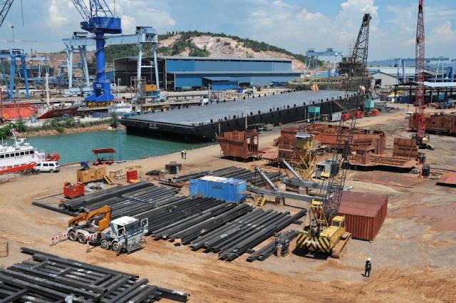 Kondisi Industri Galangan Kapal (Shipyard) Di Batam Terpuruk, 20 Perusahaan Akan Tutup Total