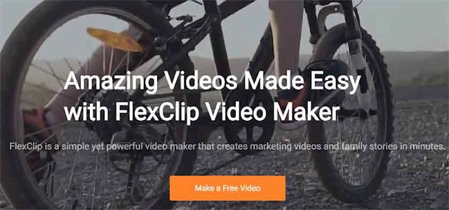 FlexClip adalah aplikasi edit video online tanpa watermark yang sangat praktis dan mudah untuk digunakan terlebih lagi untuk sobat yang masih pemula dalam soal edit video.