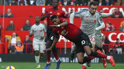 ملخص وأهداف ليفربول ومانشستر يونايتد 1-1 كاملة 20-10-2019