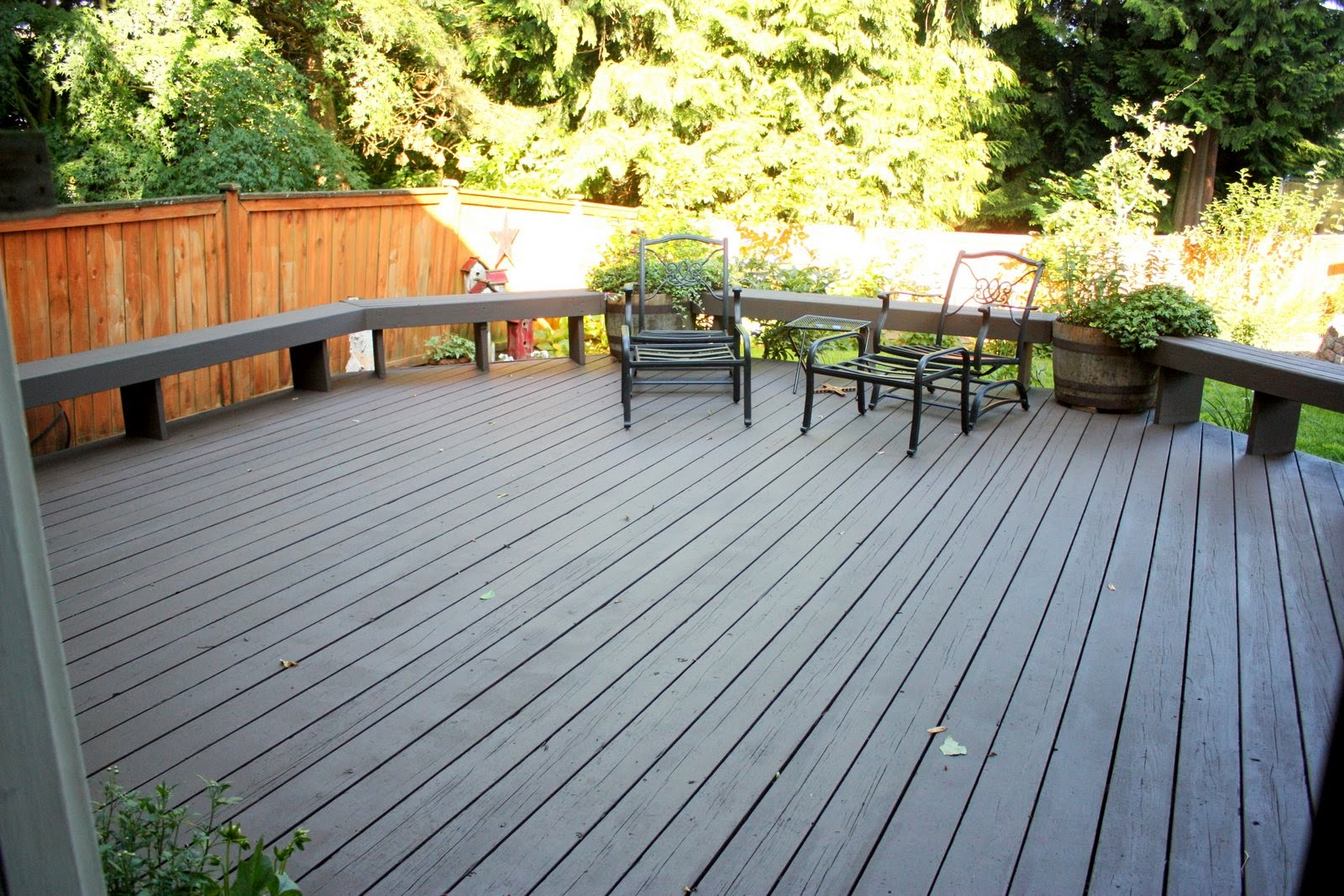 The Deck Makeover With Behr Deckover