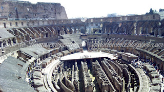 Coliseu subterraneos Roma tour privativo