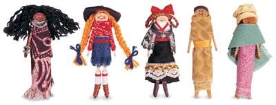 Worry Dolls - Step 2