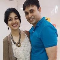 paridhi sharma with here husband