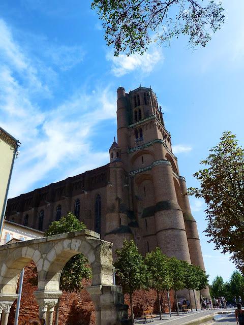 Campario de la Catedral de Albi