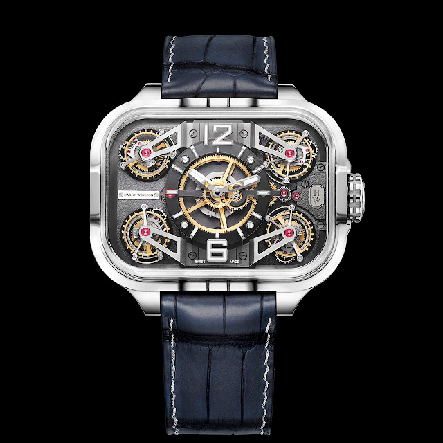 Harry Winston Histoire de Tourbillon 10 in white gold