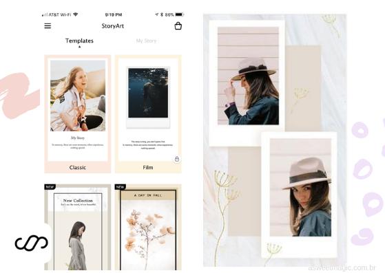 Apps para editar stories - design prontos e lindos