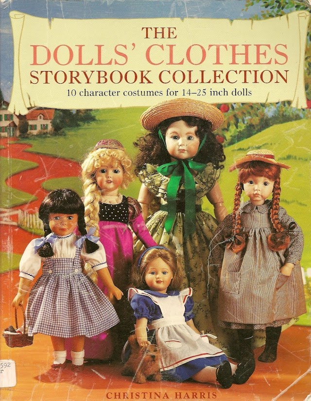 The Dolls' Clothes Storybook Collection -Revista Bonecas