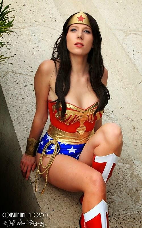Constantine In Tokyo - Wonder Woman