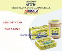 Concorso Angelo Parodi e vinci 70 Gift Card Mercatò fino a 200€