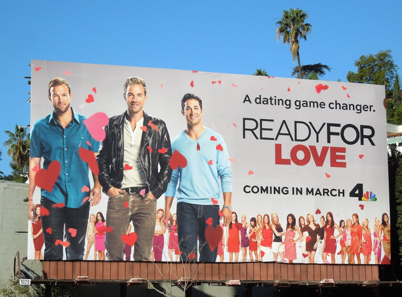 Ready For Love series premiere billboard