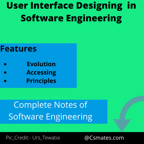 user interface design in software engineering and their principles