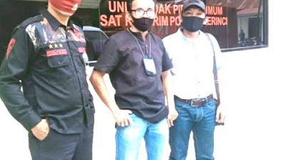 Korban Penyerangan Ketua Kelompok Tani Di Minta Keterangan Penyidik polres kerinci