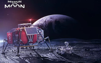First mobile network at the moon in 2019