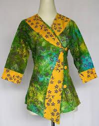 Model Baju Batik Muslim Kantor Wanita Terbaru