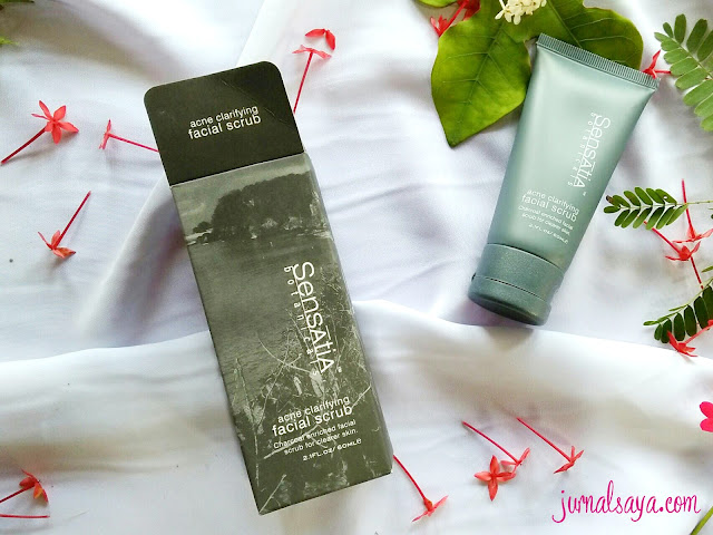 review face scrub sensatia botanicals