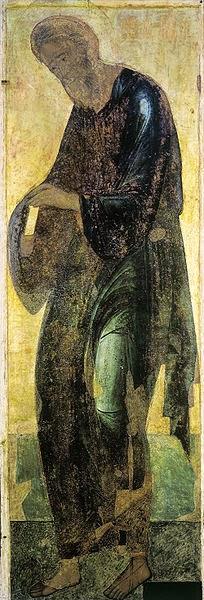 Santo André - O Primeiro a ser Chamado - Andrei Rublev e suas pinturas ~ Bizantino
