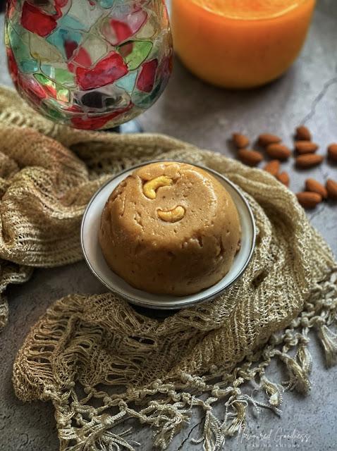 Atte Ka Halwa | Wheat Flour Halwa Recipe