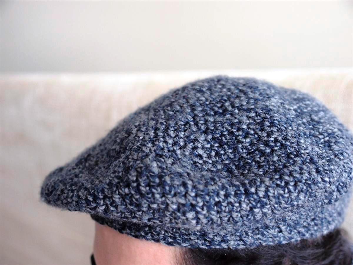 99bcfce65419 Το βελονάκι της Σοφίας  Ανδρικός μπερές - Man s beret