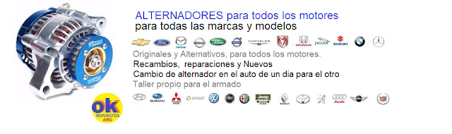 REPUESTOS ALTERNADOR