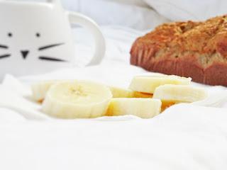 Banana bread sans gluten sans lactose