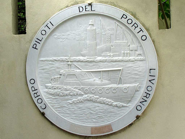 Pilots Corps crest, port of Livorno
