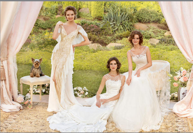 Luxury Forever Enchanted Bridal Gowns fashionwearstyle.com