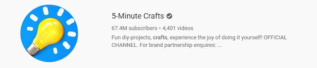 5-Minute Crafts