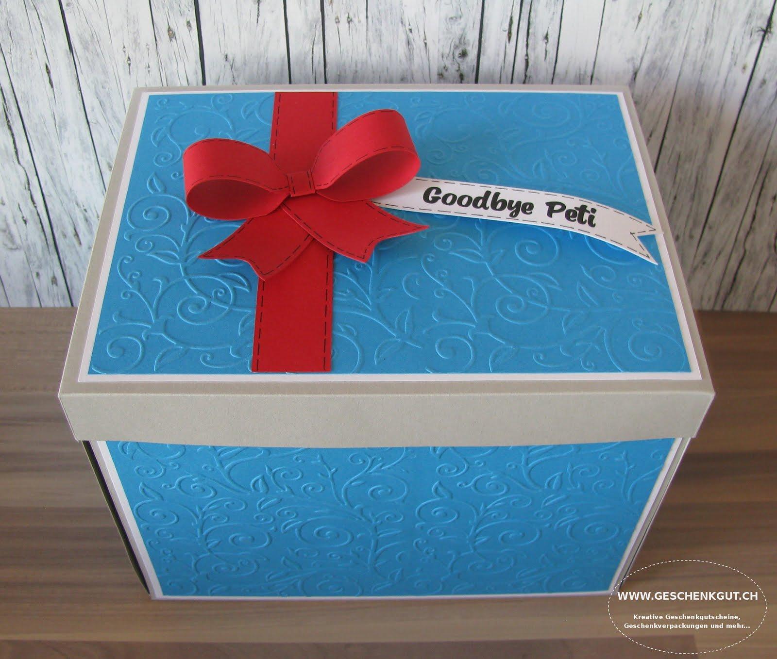Geschenkbox Wellness Tage Uberraschungsbox Explosionsbox Reise
