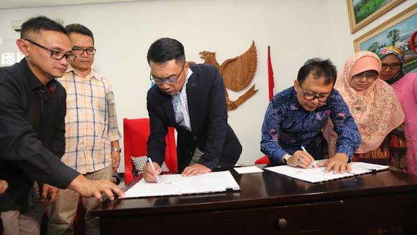 Ridwan Kamil Kembalikan Kendaraan dan Rumah Dinas Ke Pemkot Bandung