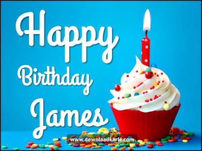 happy birthday james cake