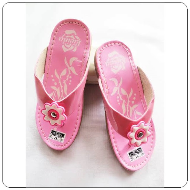 Sandal Imitasi Kulit Tasikmalaya Murah Meriah - Sandal Hak Livi Anak