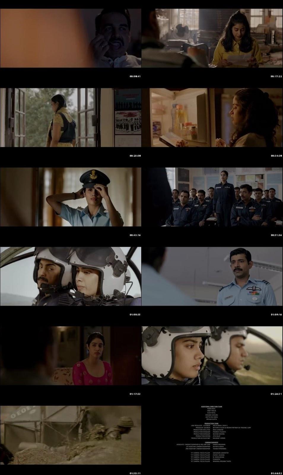 Gunjan Saxena: The Kargil Girl 2020 Full HIndi Movie Online Watch
