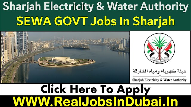 SEWA Careers Jobs Vacancies In Sharjah UAE 2021
