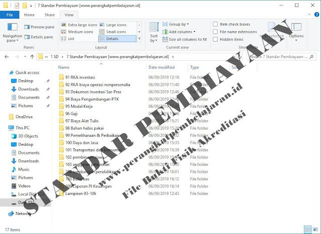 Standar Pembiayaan (Dokumen Bukti Fisik Akreditasi)